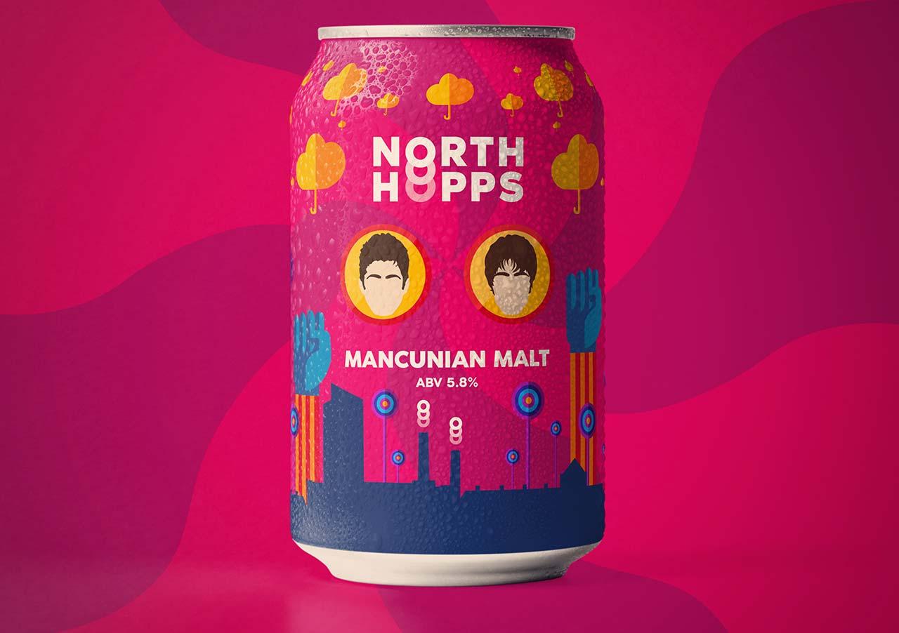 North Hopps Beer Branding