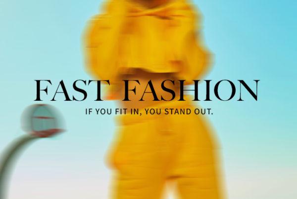 Fast Fashion Blog Post Image