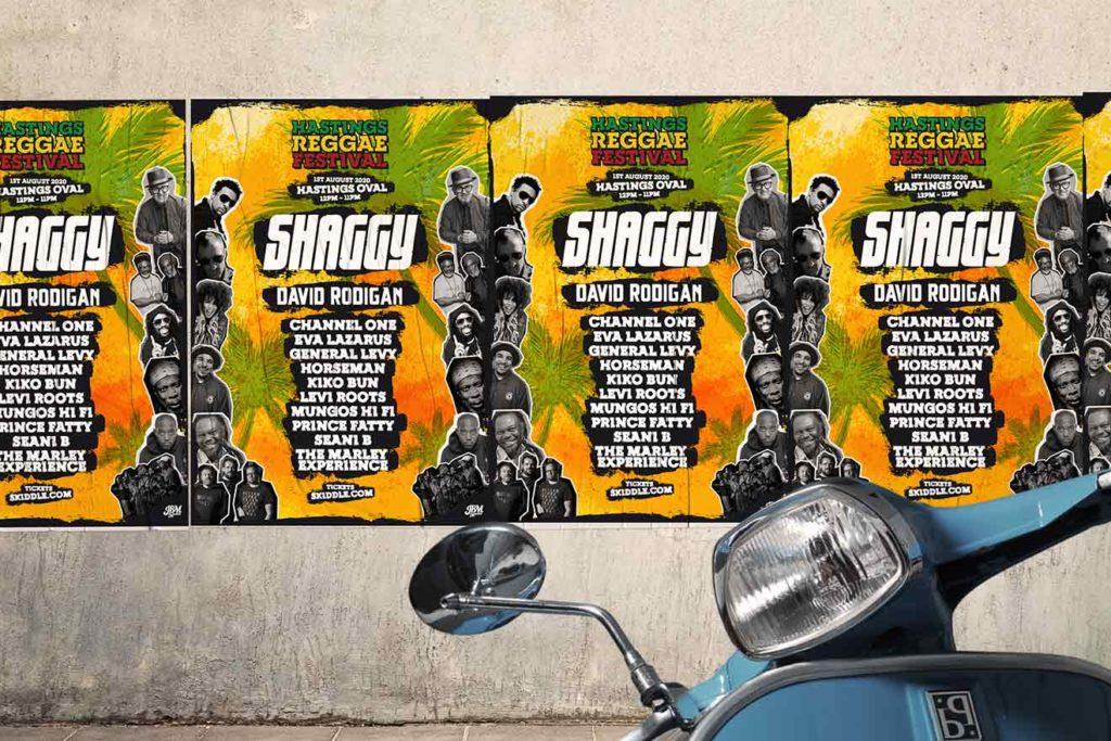 Reggae Festival Poster Design
