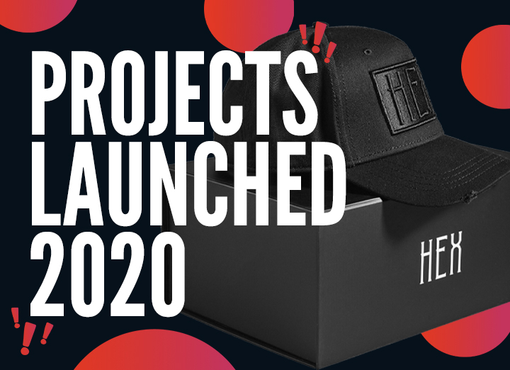 Projects Launched in 2020