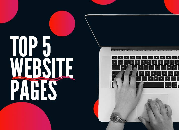 Top 5 Pages to Have on Your Website