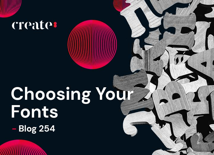 Choosing Your Fonts