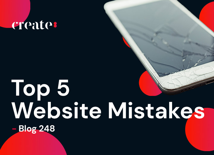 Top 5 Website Mistakes